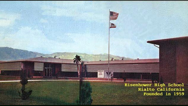 Eisenhower High School Rialto California